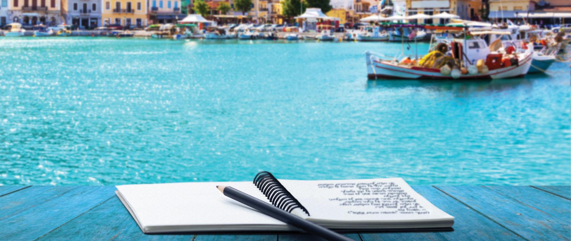 טיול ביוון - 5 ימים - טיול כתיבה ייחודי בהנחיית אשכול נבו