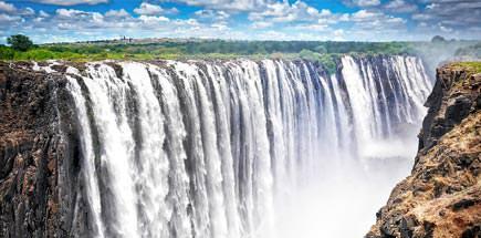 טיול מאורגן לדרום אפריקה - מפלי ויקטוריה בדרום יבשת אפריקה