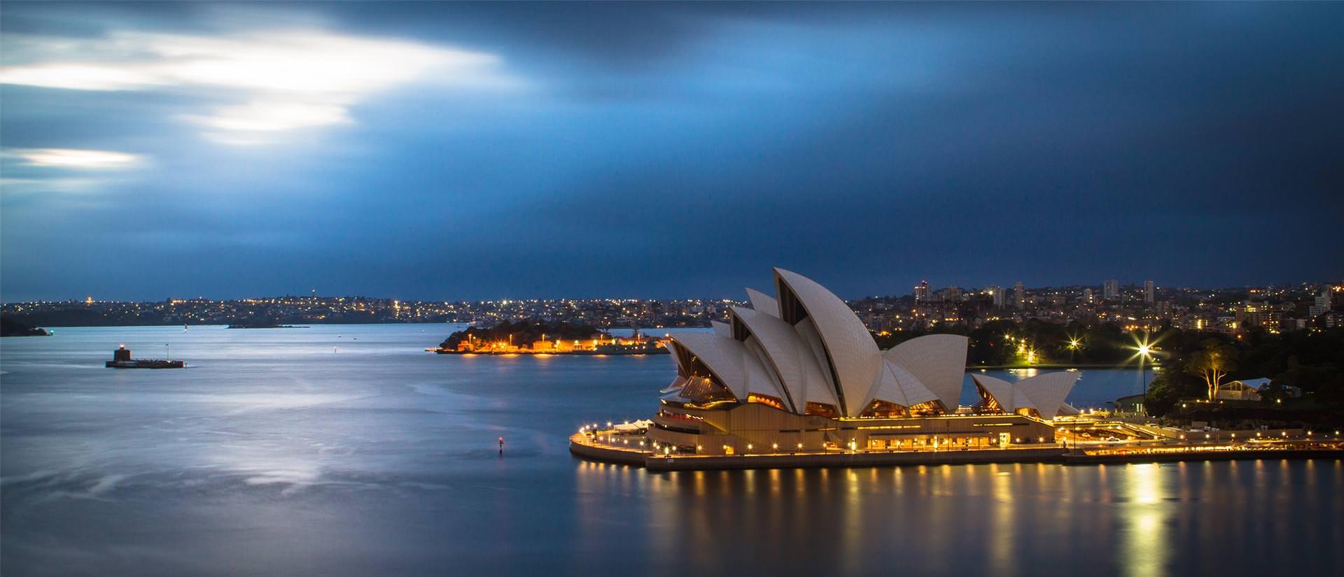 אתרים נבחרים באוסטרליה