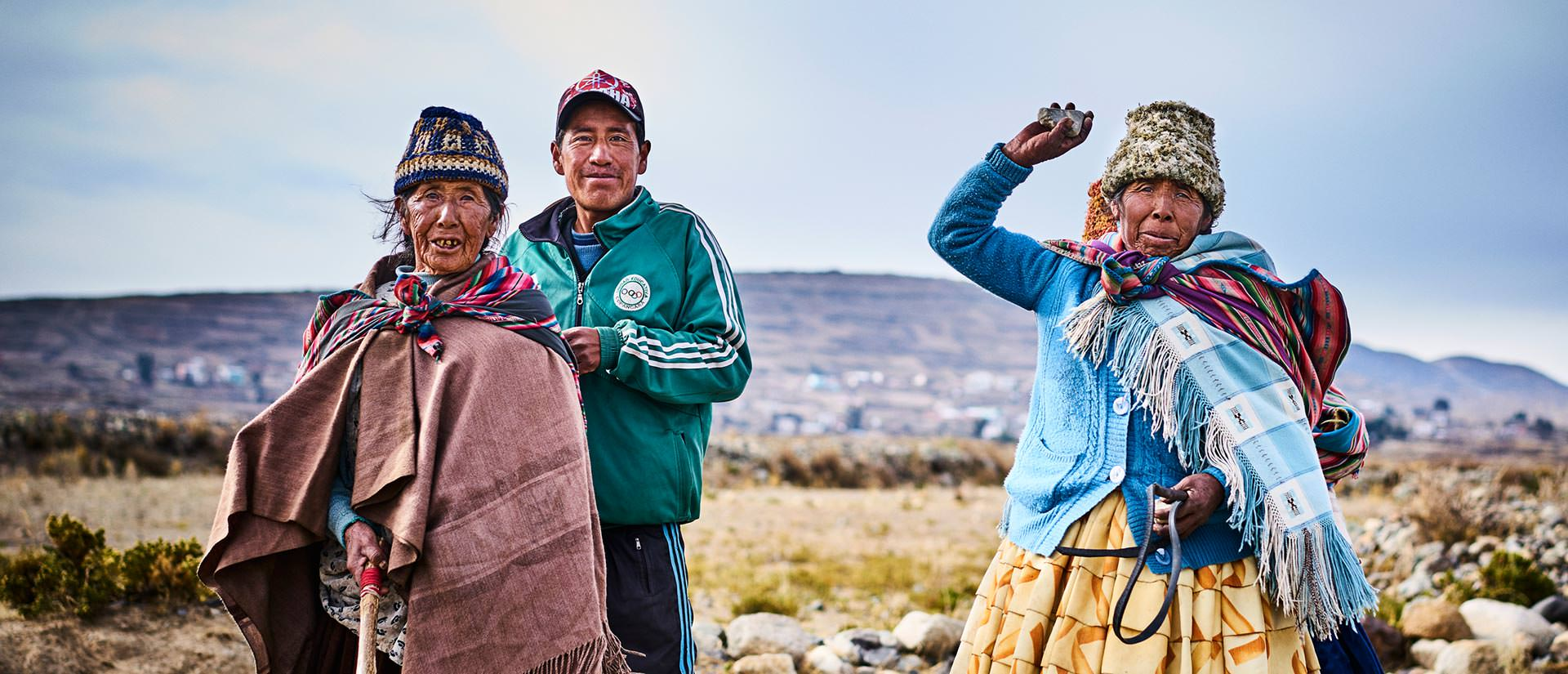 אתרים נבחרים בבוליביה