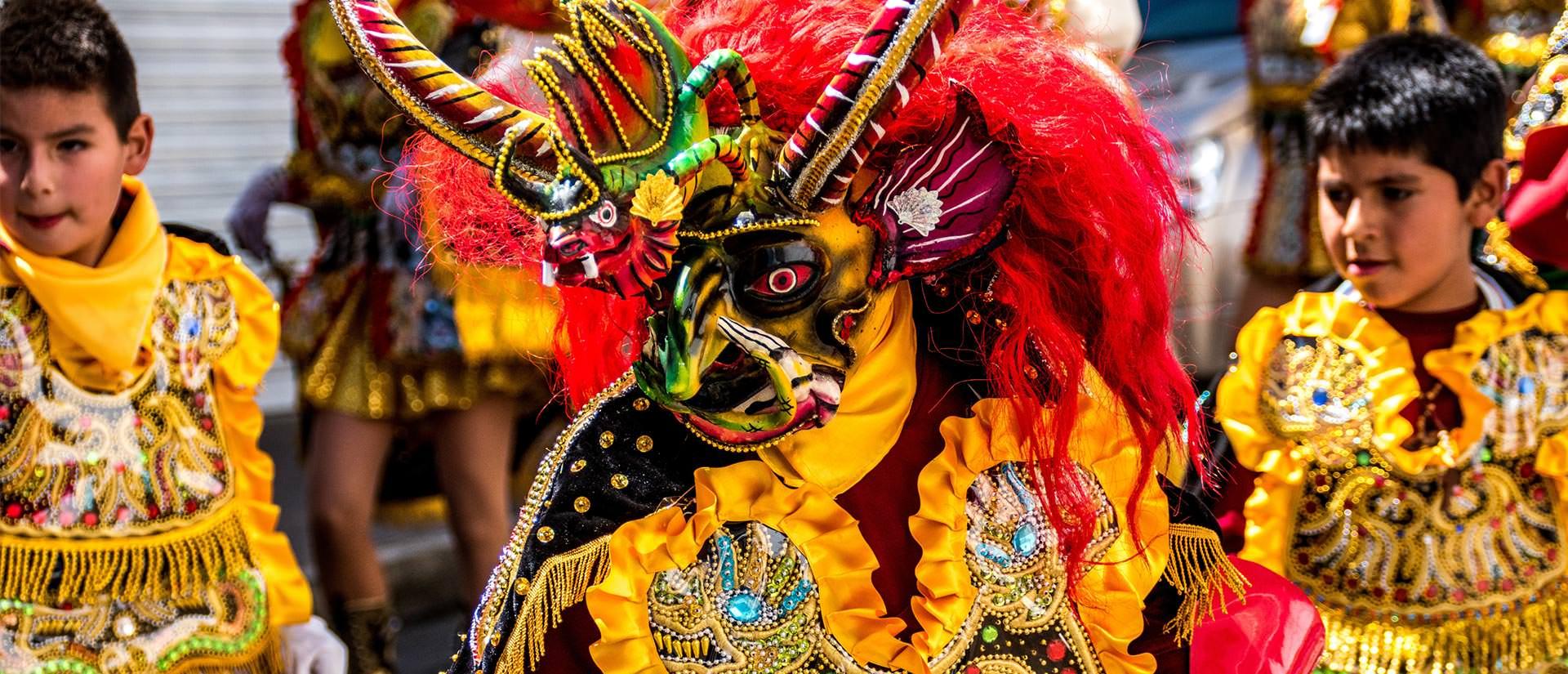 קרנבל השטן בבוליביה