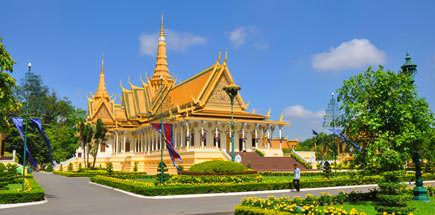 אתרים נבחרים בקמבודיה