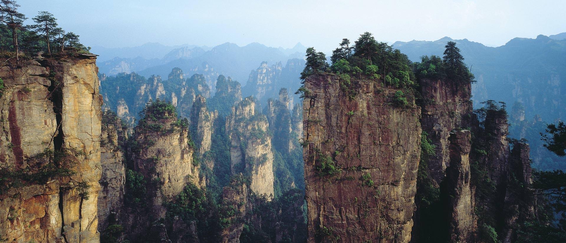 טיול לסין 17 יום - שמורת הטבע ג'אנגג'יאג'יה
