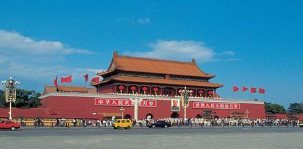 אתרים נבחרים בסין