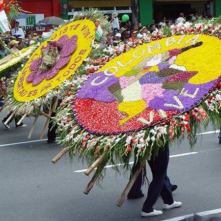 טיול לקולומביה - 17 יום - בחגיגות פסטיבל הפרחים במדיין