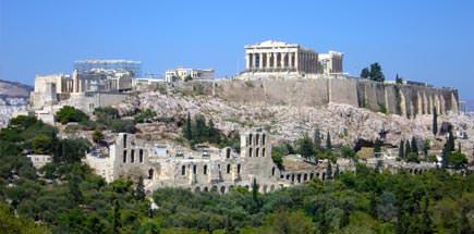 אתרים נבחרים ביוון