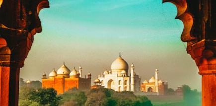 אתרים נבחרים בצפון ומרכז הודו
