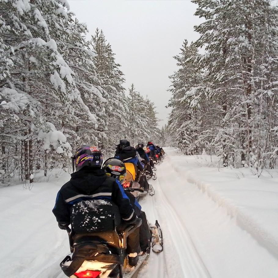 טיול ללפלנד - 7 ימים - מסע אתגרי ללפלנד הפינית