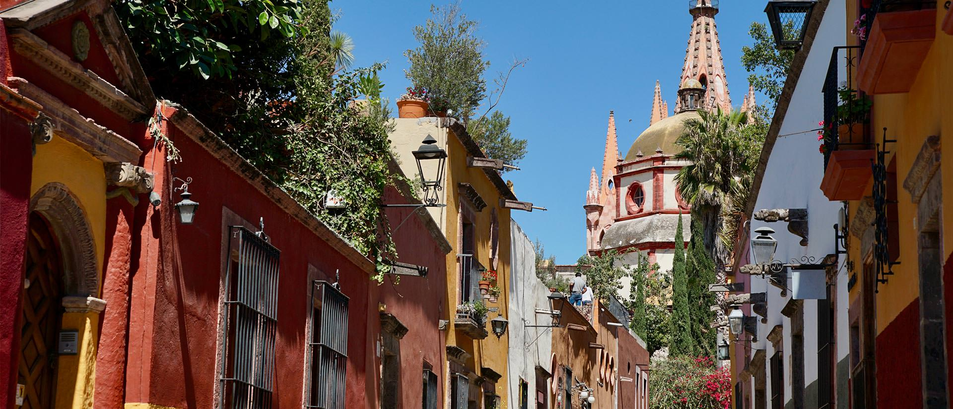 מקסיקו - שיק קולוניאליסטי