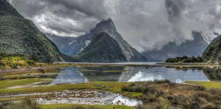 אתרים נבחרים בניו זילנד