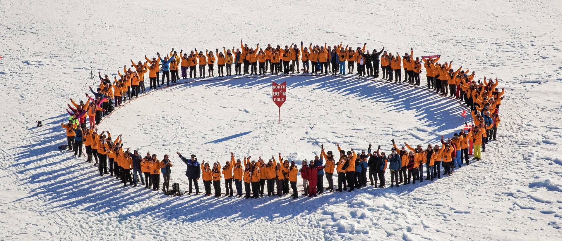 טיול לקוטב הצפוני - 14 יום - שייט אל הנקודה הצפונית ביותר בעולם