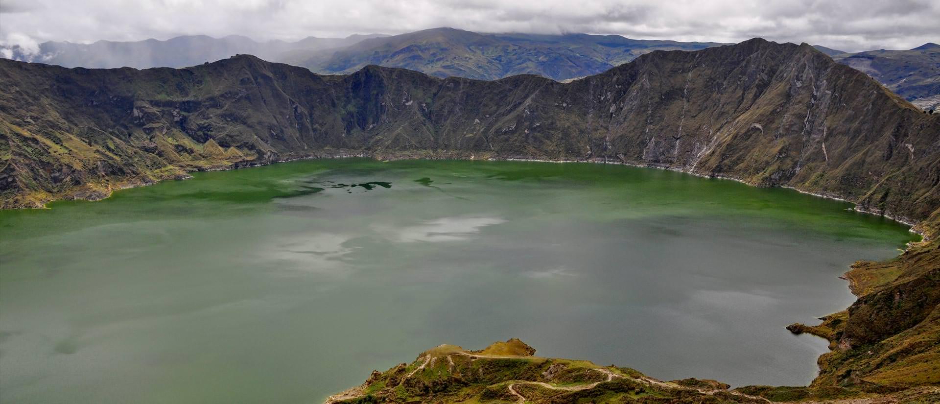 אגם קילוטואה, אקוודור - אתרי נבחרים בדרום אמריקה
