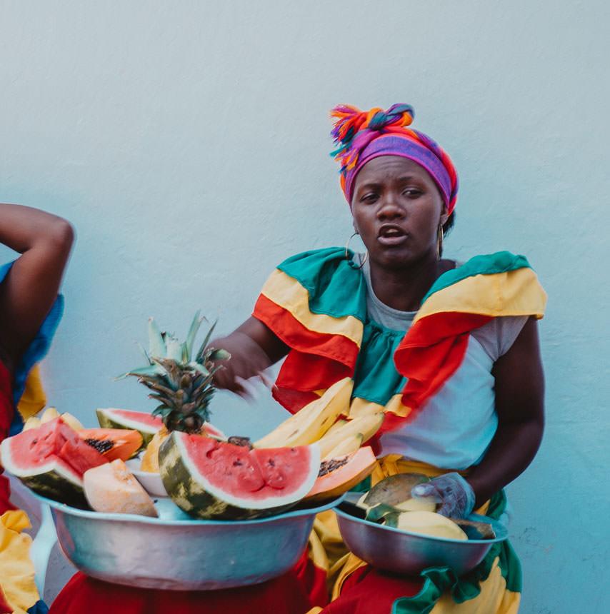 פנמה וקולומביה בחגיגות שחור לבן