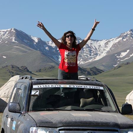 מלכת המדבר לקירגיזסטן