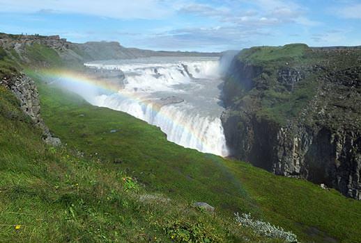מפלי גולפוס, איסלנד | צילום: נעם סגן-כהן