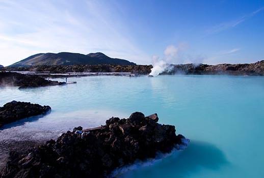 הלגונה הכחולה, איסלנד