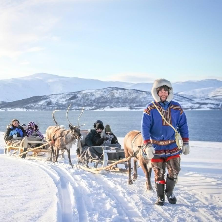 טיול ללפלנד הנורבגית - 8 ימים - מסע חורף ייחודי מעבר לחוג הקוטב הצפוני