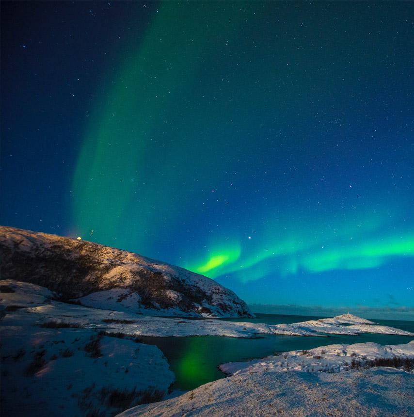 נורבגיה מעבר לחוג הקוטב הצפוני