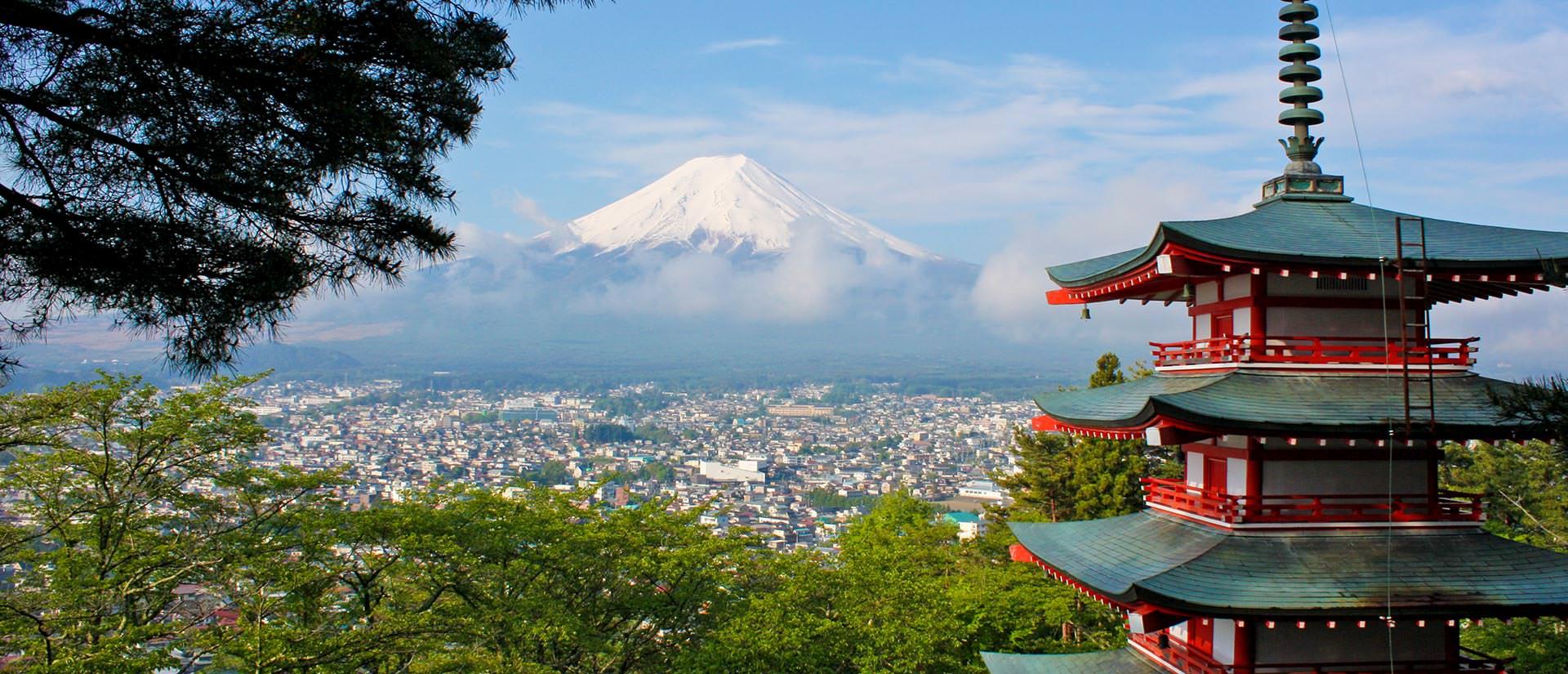 תצפית על הר פוג'י, יפן