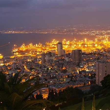 חיפה - העיר שלמעלה, העיר שלמטה ומה שביניהן